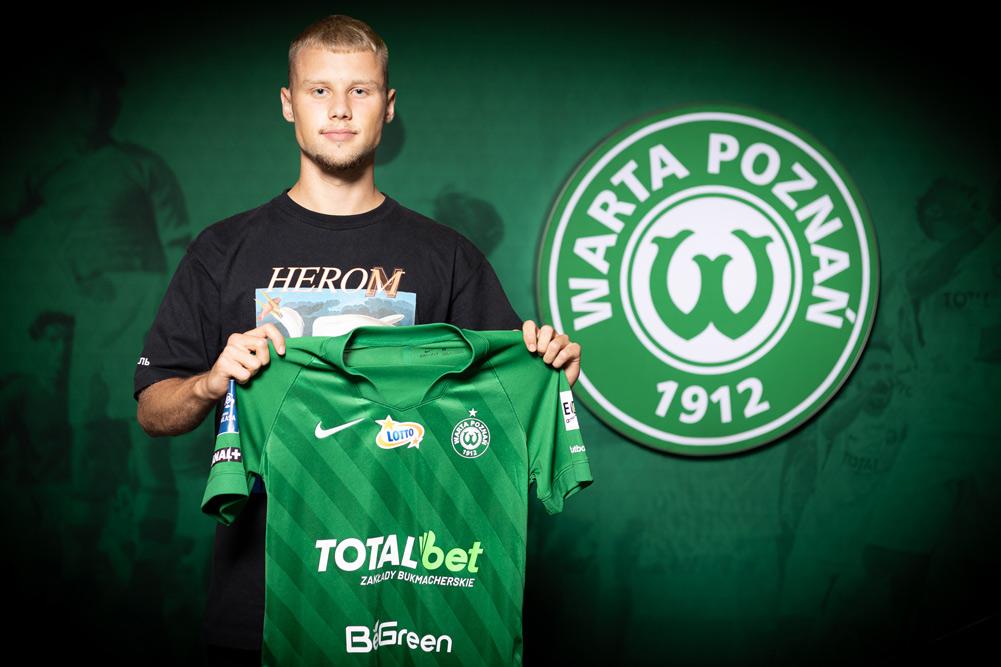 Szymon Czyż piłkarzem Warty Poznań
