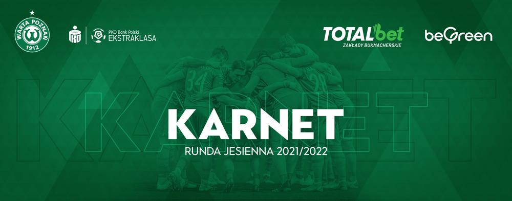 Karnet na mecze Warty Poznań - jesień 2021