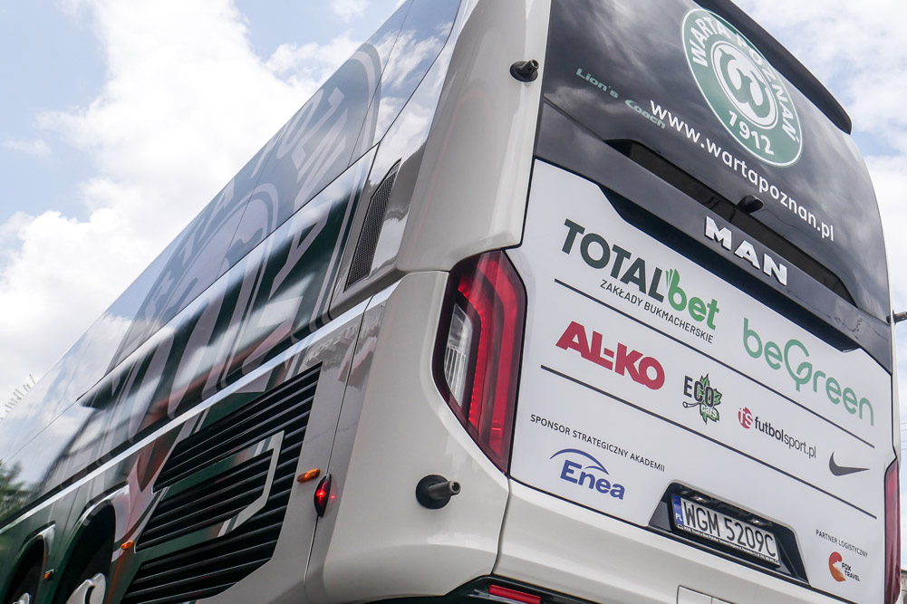 Man Lion's Coach L R08. Nowy autokar Warty Poznań od Fox Travel