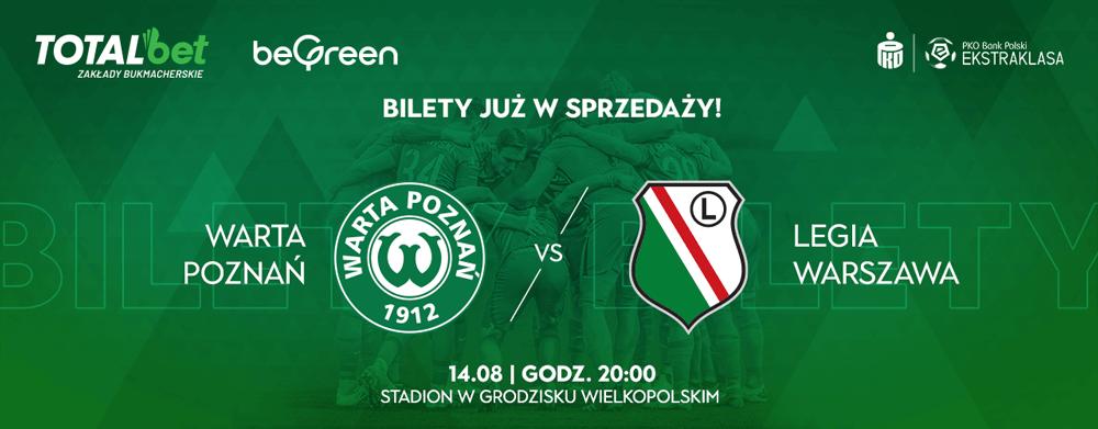Kup bilet na mecz Warta Poznań - Legia Warszawa