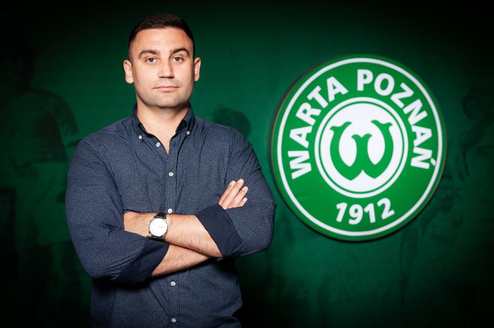 Dyrektor sportowy Warty Poznań, Radosław Mozyrko