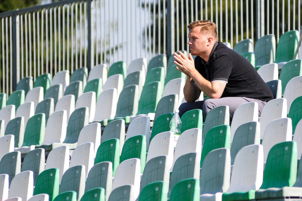 Dyrektor sportowy Warty Poznań, Robert Graf pożegnał się z Klubem